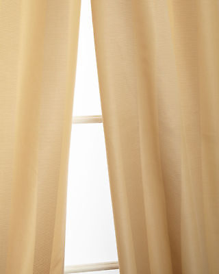 """100/%silk taffeta lined curtains 52/"""" wide by Neiman Marcus sold as pair"""