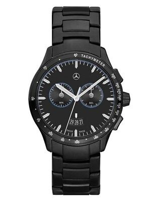 ORIGINAL MERCEDES-BENZ Chronographe Bracelet-montre entreprise BLACK EDITION