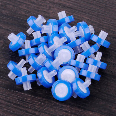 25x Syringe Filter 0.22 OD13mm Micron Made Nylon Disposable Chemistry Lab Ware