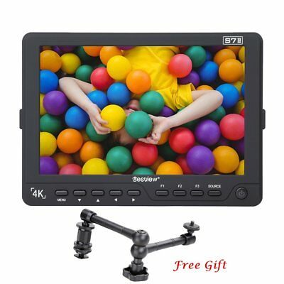 "NEW Bestview S7II 7"" Full HD 1920X1200 4K HDMI Camera Monitor For Sony GH4 A7R"
