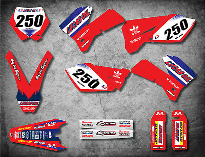 Custom graphics full kit ACTIVE style Stickers to fit KTM SX 125 250 2005 2006