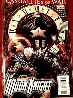 Moon Knight #8 (2007) - Casualties of War NM
