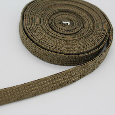 """Titanium High Heat Protect Sleeve 1/2"""" ID x 10ft 3m Per Package Sleeving Wire"""