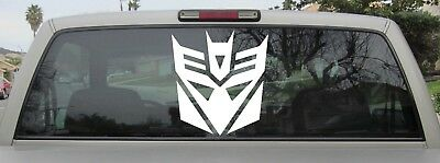 Decepticon Sticker - Transformers Decepticon Logo - Vinyl Decal - Var Szs & Clrs
