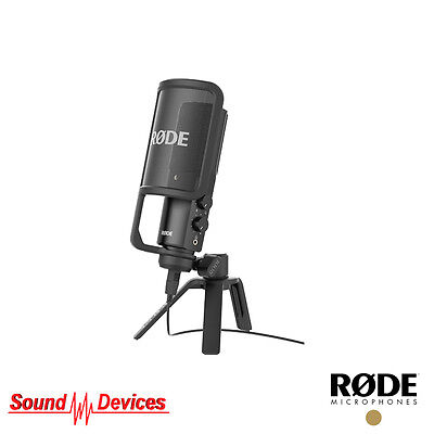 Rode Microphones NT-USB Professional Condenser USB Microphone Mac iPad or PC