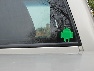 Android Sticker - Avaiable in Various Sizes and Colors - Vinyl Decal Sticker