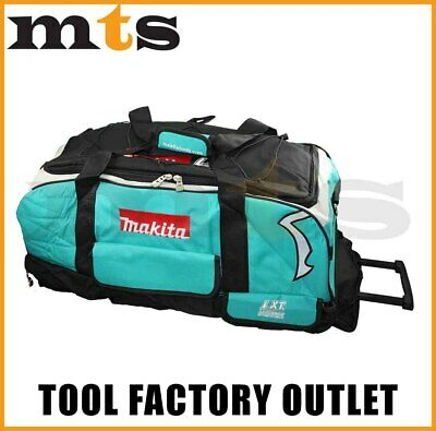 """Makita 26""""/66cm/660mm Heavy Duty Large Lxt Wheeled Contractor Tool Bag"""