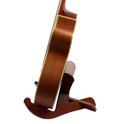 Portable Wood Guitar Bass Banjo Stand Support Display Holder Accessory