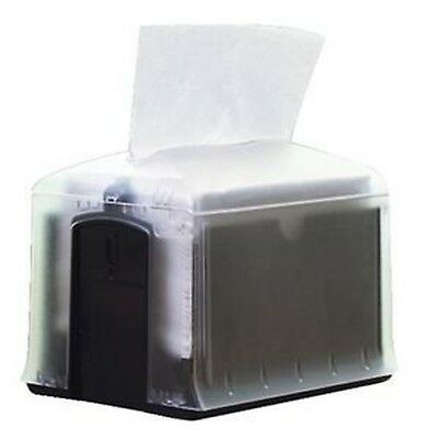 Tork SCA32XPT Xpressnap Tabletop Napkin Dispenser Clear/Black New