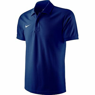 Nike Team Sports TS Core Herren Polo Shirt, T-Shirt dunkelblau 454800-451 NEU