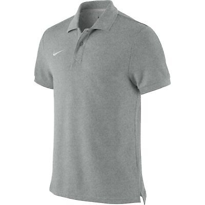 Nike Team Sports TS Core Herren Polo Shirt, T-Shirt grau 454800-050 NEU