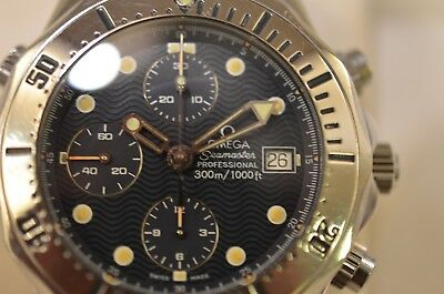 Omega Seamaster Professional Diver 300M Chronograph 2598.80 Box/papers
