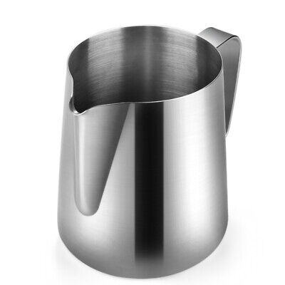 Stainless Steel Milk Frothing Pitcher - Milk Steamer Cup Suitable for Barista