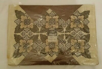 Vintage Luncheon Set 4 Tablemats & Napkins by Old Bleach Anniversary Retro Party