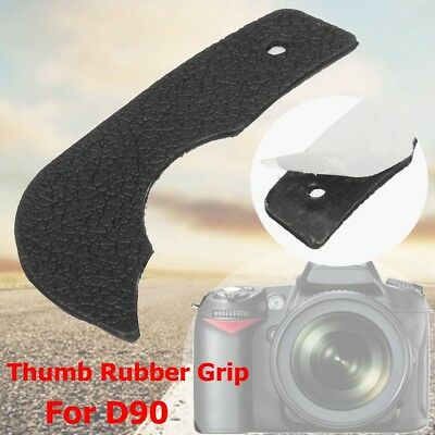 Thumb Rubber Grip Rear Back Cover Adhesive Tape For Nikon D90 DSLR Replacement