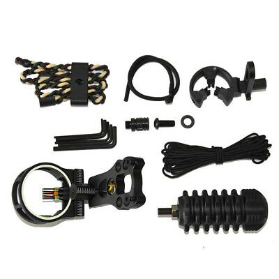 Upgrade Compound Bow Archery Combo Accessories Bow Kit Stabilizer 6in1 Set