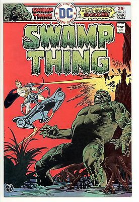 Swamp Thing 21 - Bronze Age Classic - High Grade 9.2 NM-