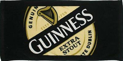 Guinness Extra Stout 1759 Label Bar Towel 19x9 5 100 Cotton NEW, Free Shipping