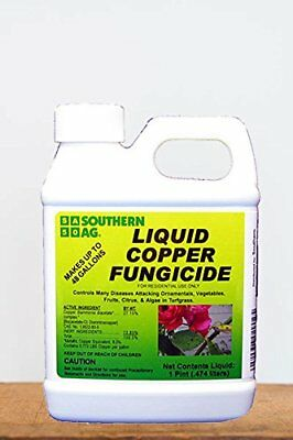Southern Ag Liquid Copper Fungicide, 32oz 1 Quart NEW, Free Shipping