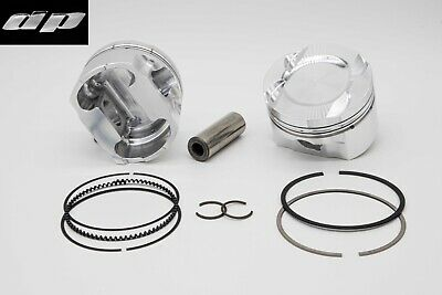 BMW M3 E36 S50B30 Turbo Pistons - DP Engine Parts 86.5mm 9.1:1 CR 21mm Pin