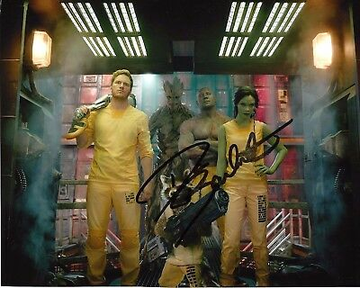 ACTOR DAVE BAUTISTA SIGNED GUARADIANS OF THE GALAXY MOVIE 8x10 PHOTO 2 COA DRAX
