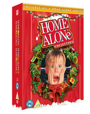 Home Alone 1 2 3 4 Collection  Brand New Sealed Genuine Uk Dvd Boxset