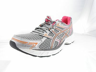 Asics T3F8N-9197 GEL Equation 7 Silver Women's Running Shoes Size 7.5M