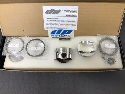 Audi TT RS 2.5L TFSi Pistons - DP Engine Parts 83mm 8.3:1 CR 21mm Pin