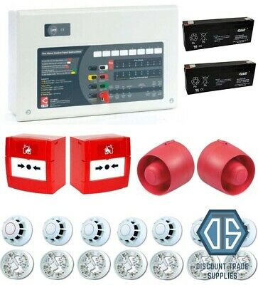C-TEC 4 Zone Custom Conventional Fire Alarm Kit