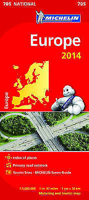 National Map 705 Europe 2014 (Michelin Road Atlases & Maps)