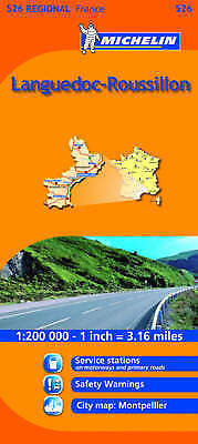 Languedoc-Roussillon (Michelin Travel Maps)
