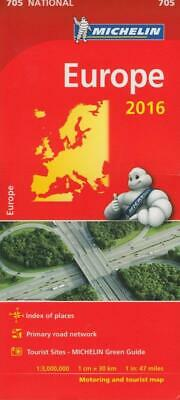Europe 2016 National Map 705 (Michelin Road Atlases & Maps)