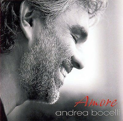 ANDREA BOCELLI - Amoreexclusive Version - CD - **BRAND NEW/STILL SEALED**