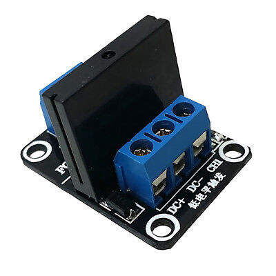 5V 1-Way Low-level Board Solid State Relay Module with Resistive Fuse