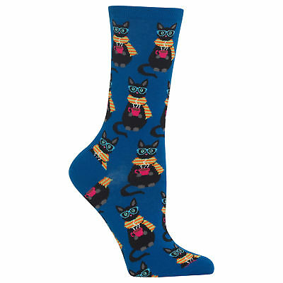 Hot Sox Women's Coffee Cat