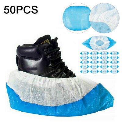 Disposable Overshoes Heavy Duty CPE Embossed Sole Anti Slip Shoe / Boot Cover