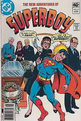 The New Adventures of Superboy #8 (Aug 1980, DC)