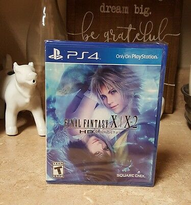 NEW Final Fantasy X X-2 HD Remaster Game Sony PlayStation 4 PS4 FF 10 RPG