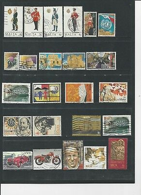 Malta- Collection Of Used Stamps  - #mlt30