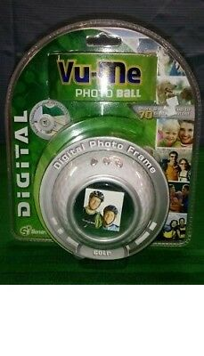 Vu-Me Photo Ball Digital Photo Frame GOLF BALL Shape  NEW In Package