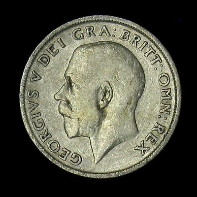 1916 Great Britain Shilling silver coin