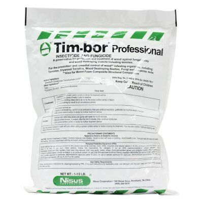 Timbor Professional Insecticide and Fungicide, 1 5 lb bag NEW, Free Shipping