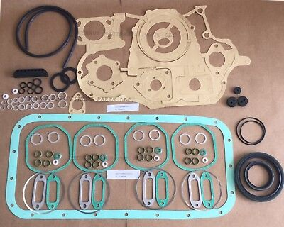 DEUTZ F4L912  F4L913 Full Gasket Set With Seal Copper F4L912 F4L912W F4L912 Kit
