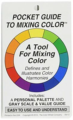 Color Wheel 1-Piece Pocket Guide to Mixing Colour