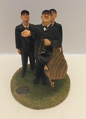 "Norman Rockwell ""Bottom Of The Sixth"" Baseball Umpires Figurine"