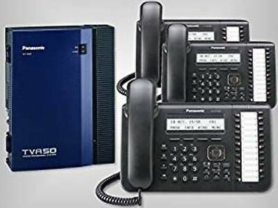 Panasonic KX-TDA50G Bundle with 3 Black KX-DT543 Digital Phones