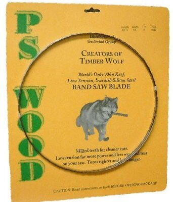 Timber Wolf Bandsaw Blade 93 5 x 1/2 x 3 TPI x 025 Thickness NEW, Free Shipping