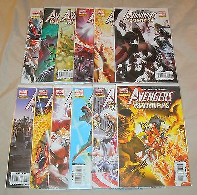 AVENGERS INVADERS 1 2 3 4 5 6 7 8 9 10 11 12 Complete