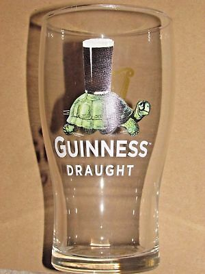 *wow* Collectible -  Guiness Draught Special Edition Turtle Pint Glasses