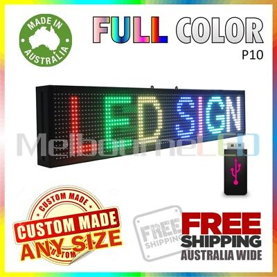 LED SIGN  RGB Full Colour Scrolling Programmable Message Window Display 670x190